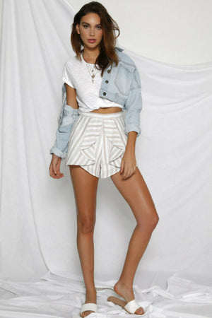 Runaway New York Cropped Denim Jacket MVE Boutique