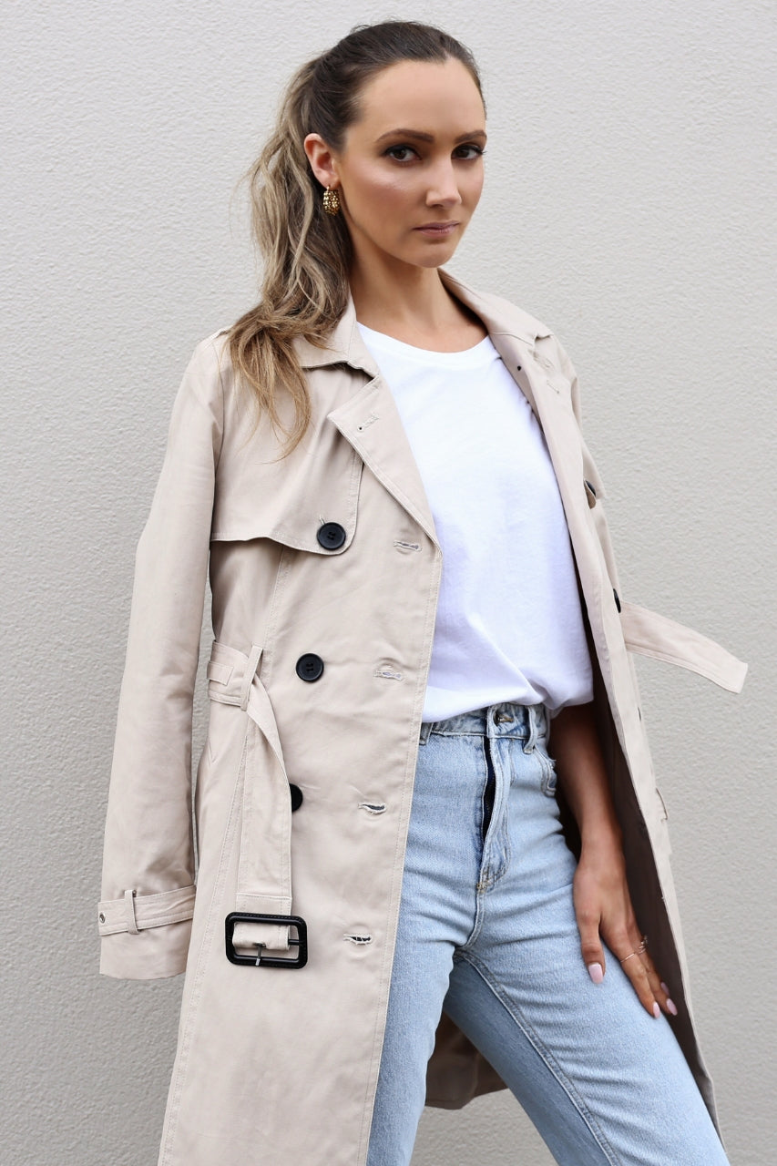 Madison The Label Harriet Trench Coat