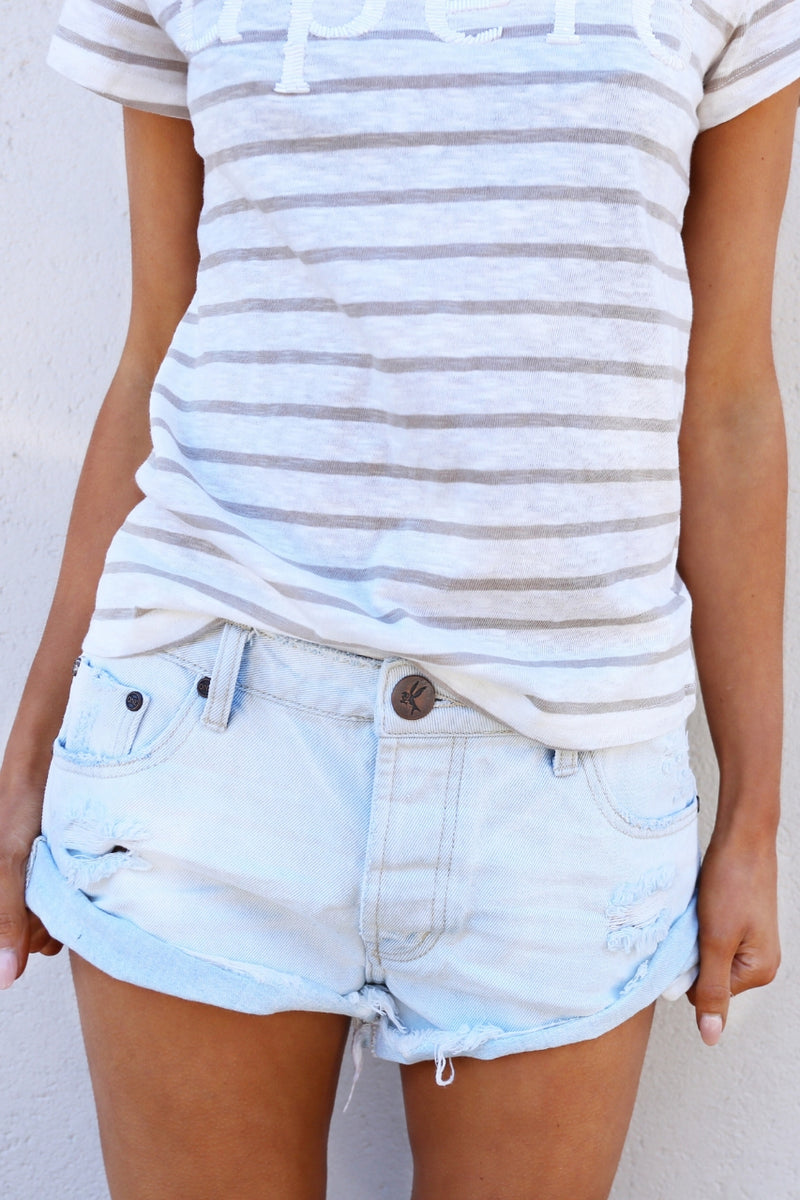 One Teaspoon Bandits Shorts - Xanthe mve boutique