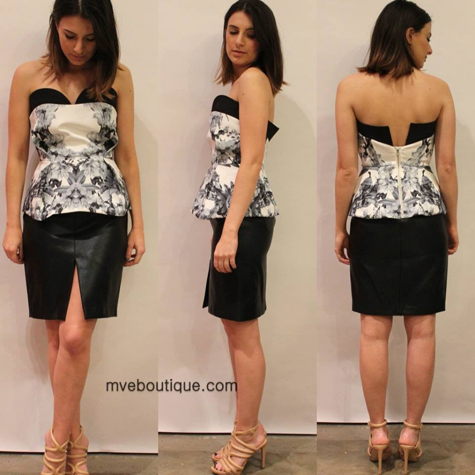 Finders Keepers - SITTING WAITING WISHING BUSTIER - Tops - M.VE BOUTIQUE - 1