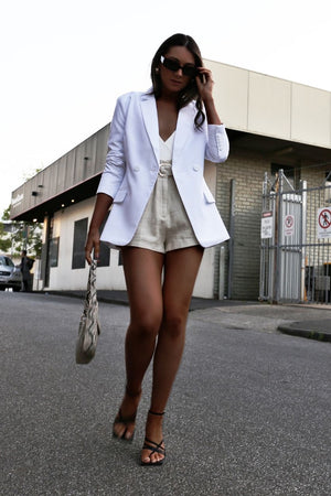 Billie Blazer - White