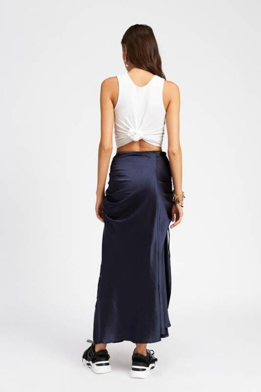 Le Paris Maxi Skirt - Ink