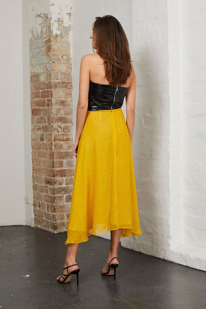 Bec & Bridge Hibiscus Golden Skirt