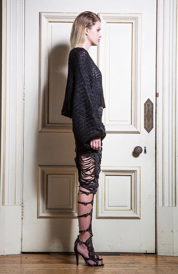 Asilio The Label - CRASH AND BURN KNIT - Knits - M.VE BOUTIQUE - 6