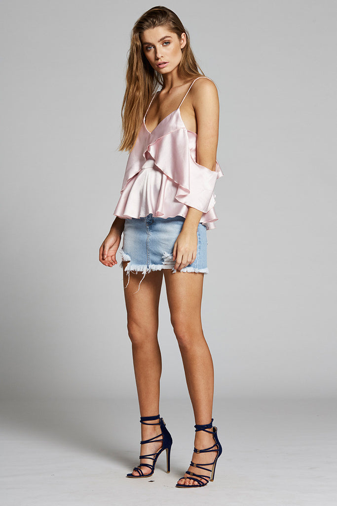 Charlise Top - Light Pink