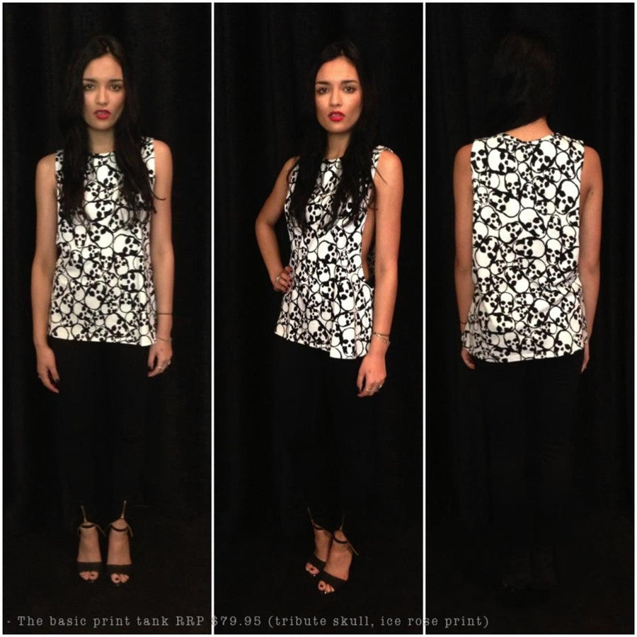 Fiends And Lovers - THE BASIC FLORAL - Tops - M.VE BOUTIQUE