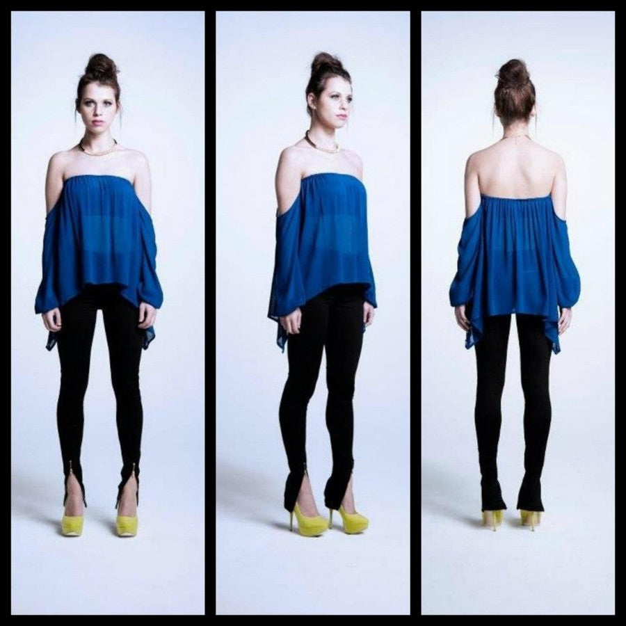 Fiends And Lovers - BARE WITH IT TOP - Tops - M.VE BOUTIQUE