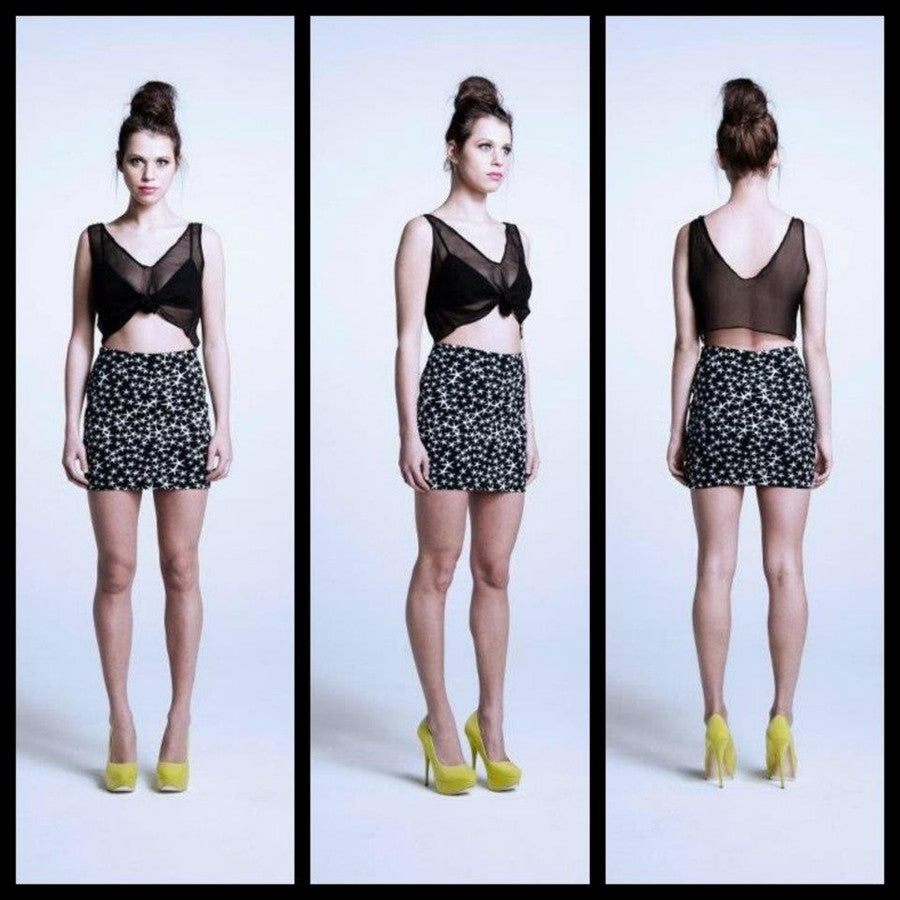 Fiends And Lovers - STARS SKIRT - Skirts - M.VE BOUTIQUE