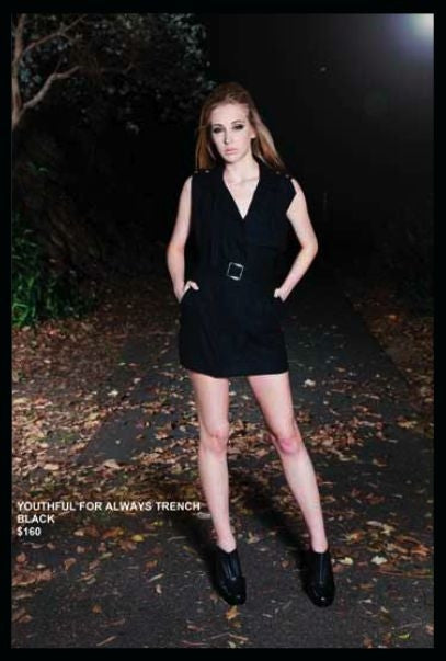 Fiends And Lovers - YOUTHFUL FOR ALWAYS TRENCH/DRESS - Dresses - M.VE BOUTIQUE
