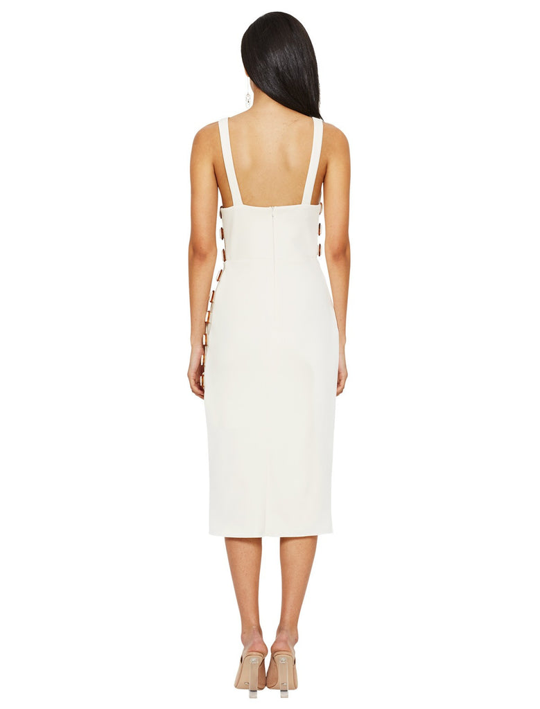 Natures element maxi dress - white