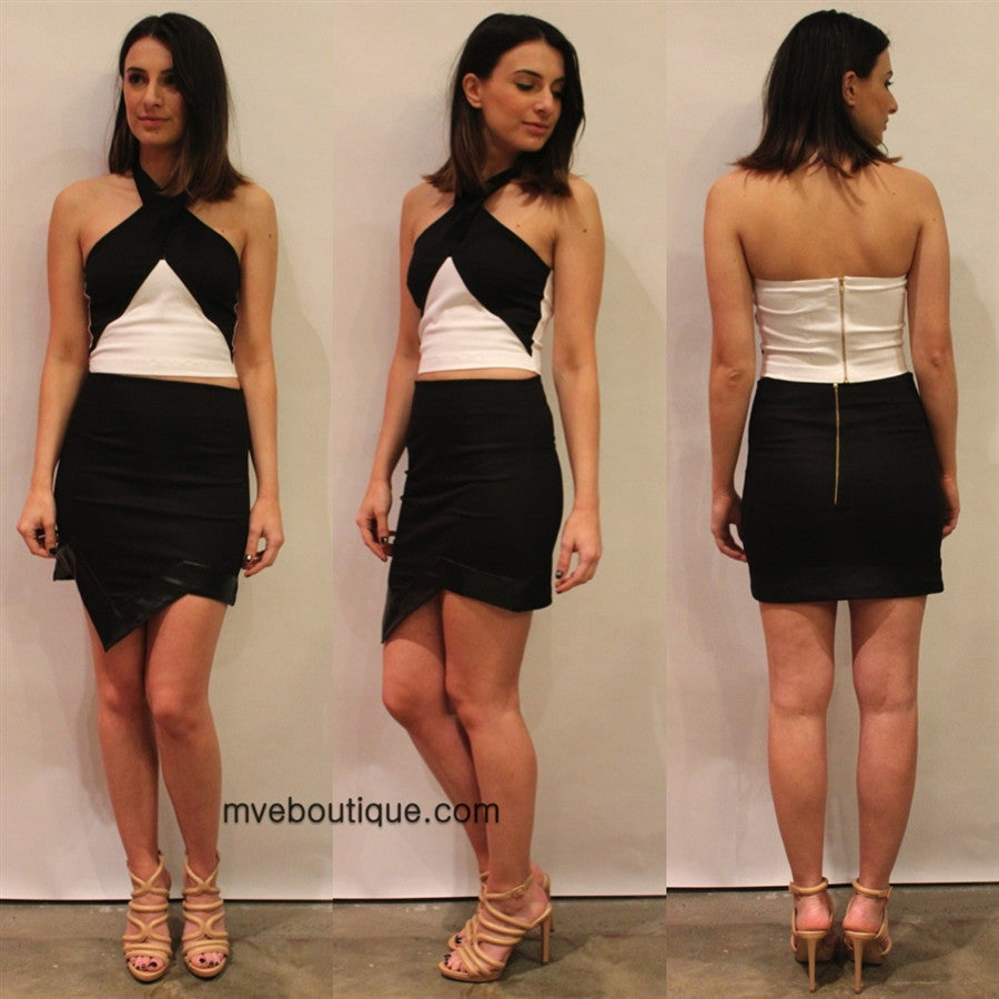 Incyda The Label - HOPE TWIST TOP - Crop Tops - M.VE BOUTIQUE