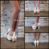 Jeffrey Cambell - JEFFREY CAMPBELL FOXY DAISY - Footwear - M.VE BOUTIQUE