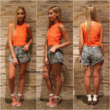 May The Label - DAISY LACE CROP TOP - Tops - M.VE BOUTIQUE