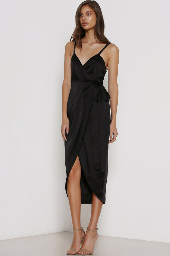 Moments Wrap Dress