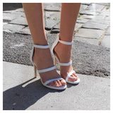 skin shoes - ATHENA - WHITE - Footwear - M.VE BOUTIQUE - 1