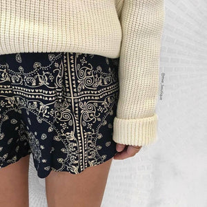 Times Ten - HEARTBREAK HOTEL SHORTS - Shorts - M.VE BOUTIQUE