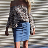 MY DARLING DENIM SKIRT