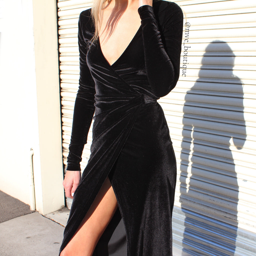 The Sourcerer Wrap Dress