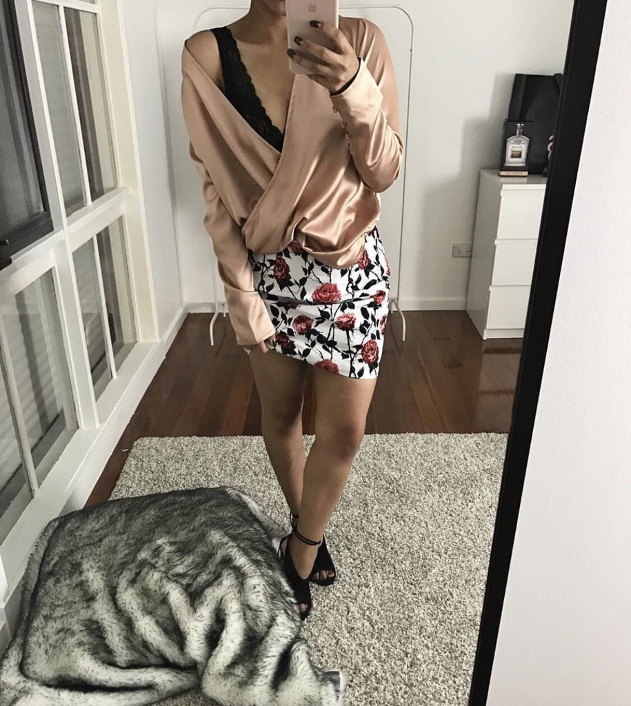 Case of Roses Skirt