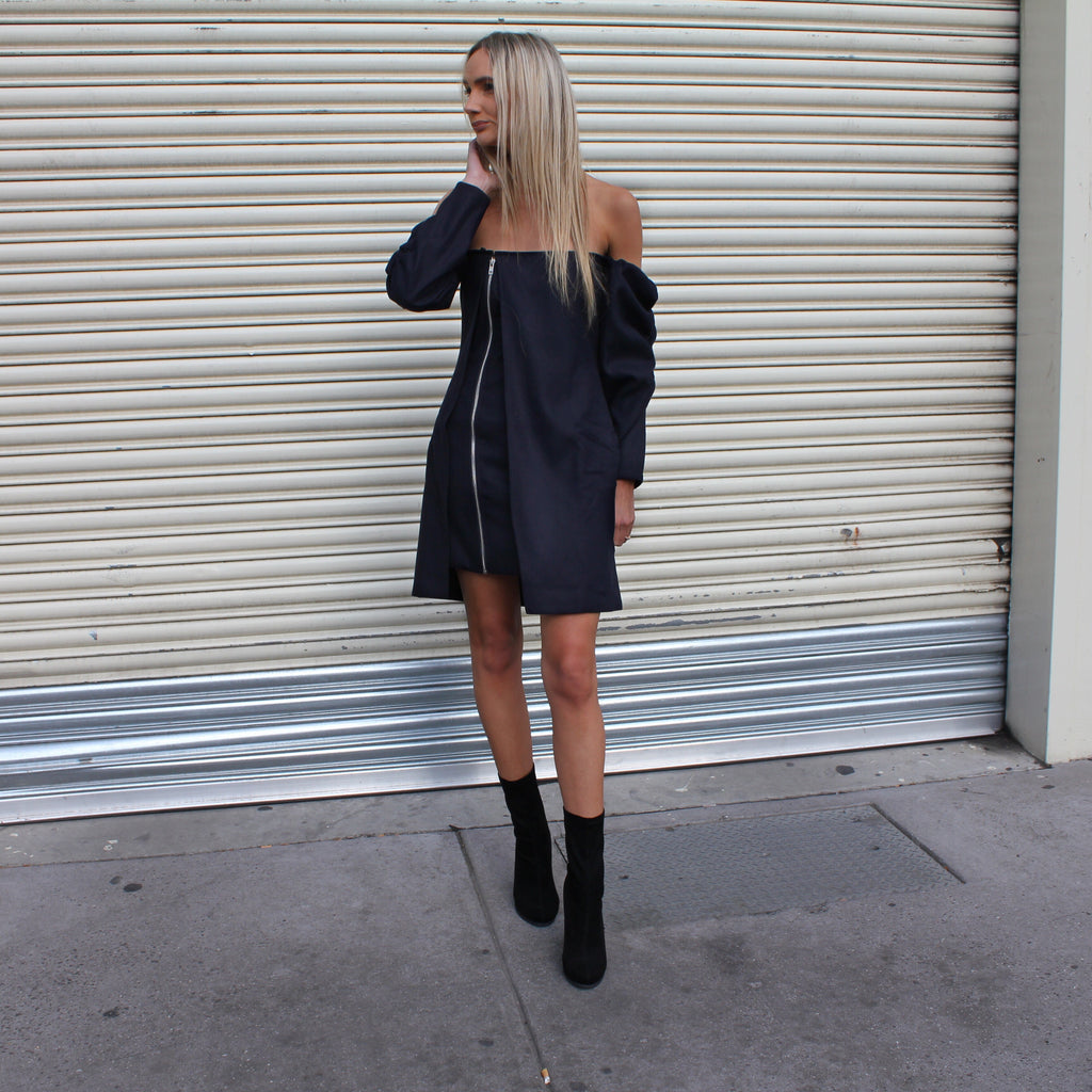 Over The Line Dress