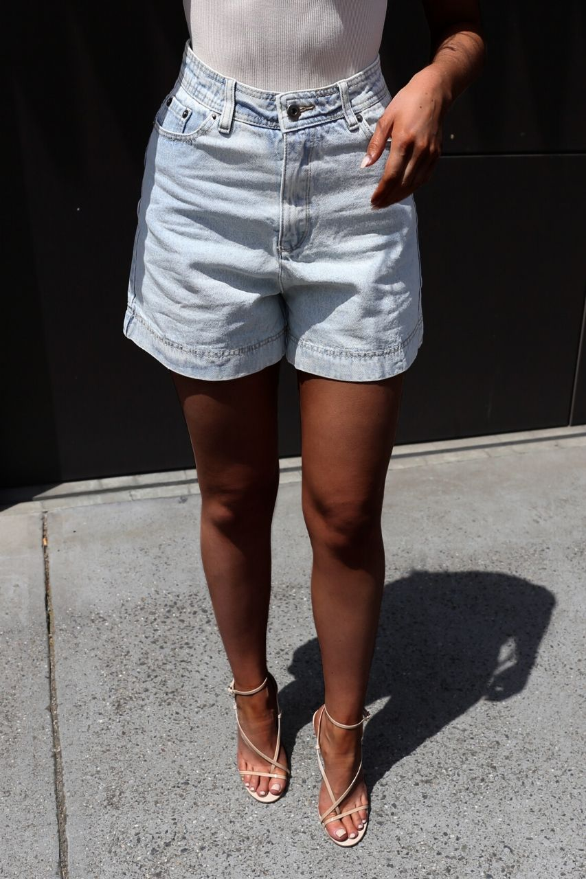Sandy Denim Shorts