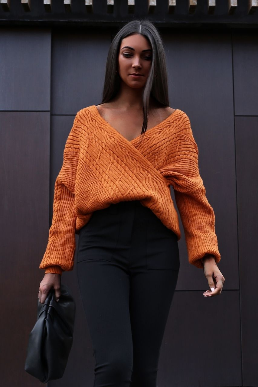 Giselle Knit- Rust