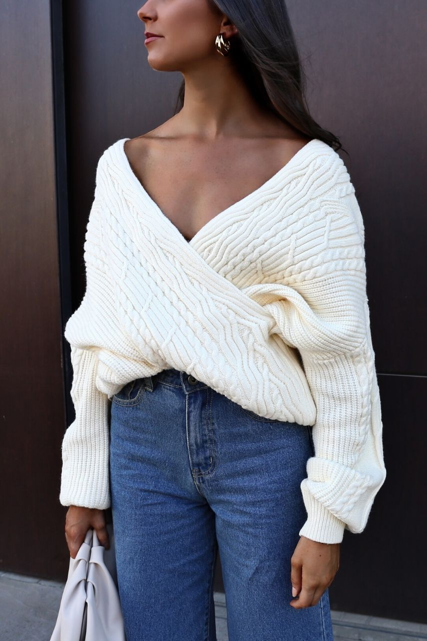 Giselle Knit- Cream