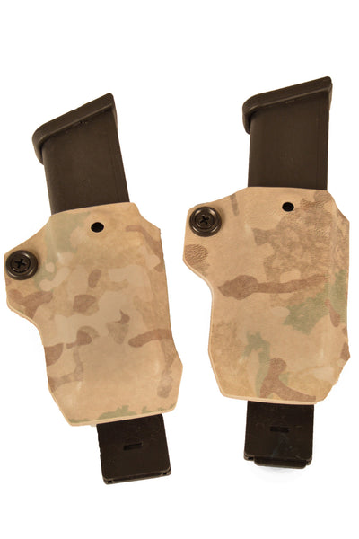 GLOCK 9/40 MAGAZINE CARRIERS (X2)