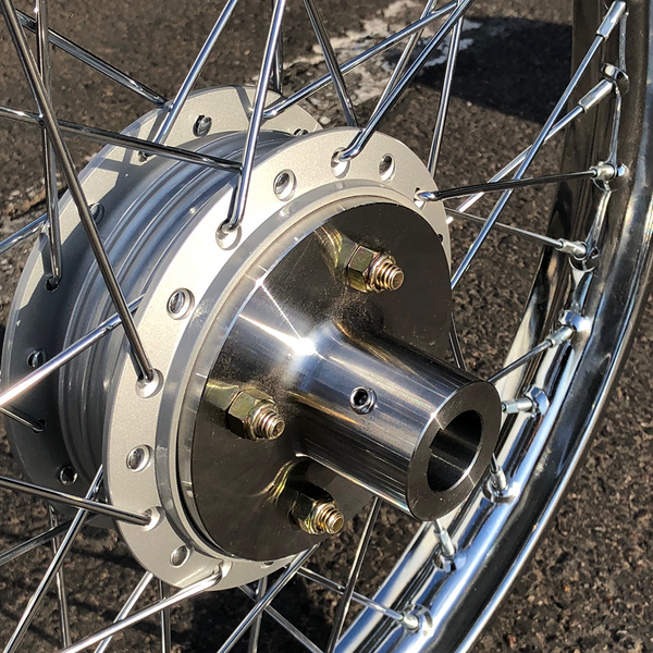 Rear Wheel Adapter Hub Set (Machined From Single Billet Steel)