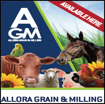 "Now Stocking ""Allora Grain & Milling""Produce"