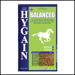Hygain - Balanced - 20kg - Price Listed = single Unit -  Email or call for Wholesale Pricing for BULK ORDER