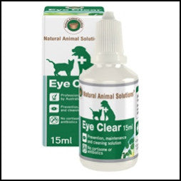 Natural Animal Solutions - Eye Clear 15ml
