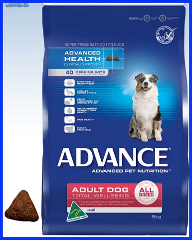 Advance - Adult Total Wellbeing All Breeds Lamb And Rice