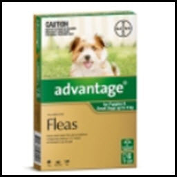 Advantage - Dog Small Green up to 4KG