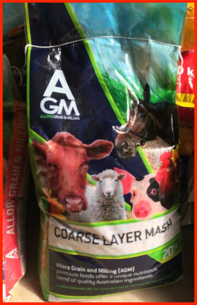 AGM - Course Layer Mash - 20kg
