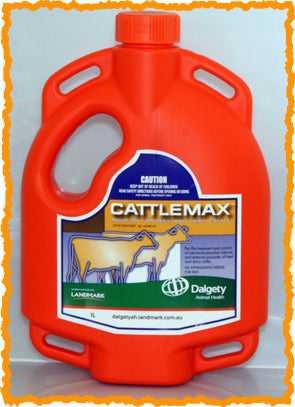 CATTLEMAX POUR-ON FOR BEEF AND DAIRY CATTLE 1-Litre