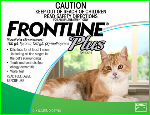 Frontline Plus - Cat