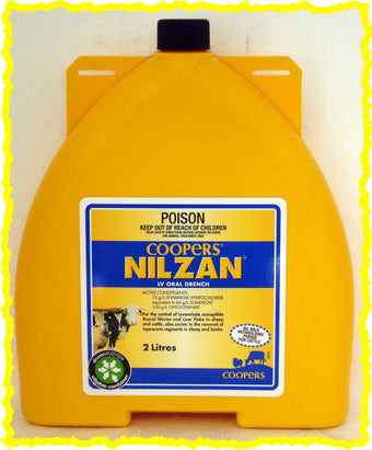 NILZAN LV ORAL DRENCH FOR SHEEP & CATTLE