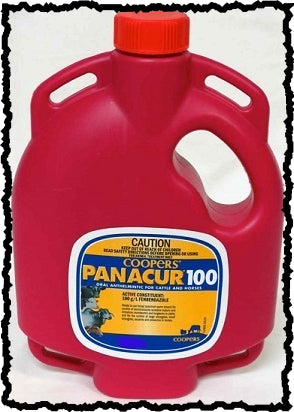 COOPERS PANACUR 100 ORAL ANTHELMINTIC FOR CATTLE AND HORSES