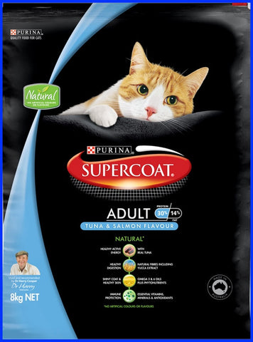 Supercoat - Adult Cat - Salmon And Tuna - 8KG
