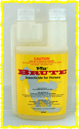 Y-TEX BRUTE INSECTICIDE FOR HORSES 5OO-mL