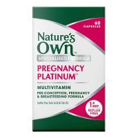 Nature's Own Pregnancy Multivitamin (60 capsules)