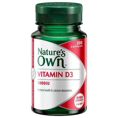 Nature's Own Vitamin D 1000IU (200 capsules)