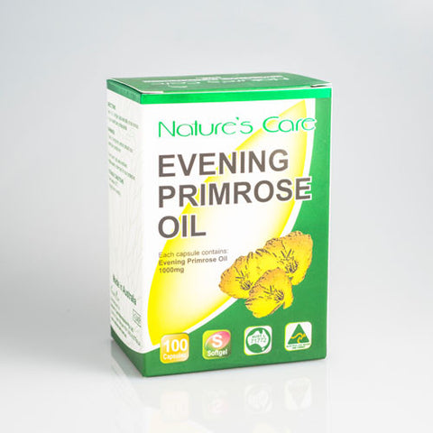 Nature's Care Evening Primrose Oil 1000mg (100 capsules)
