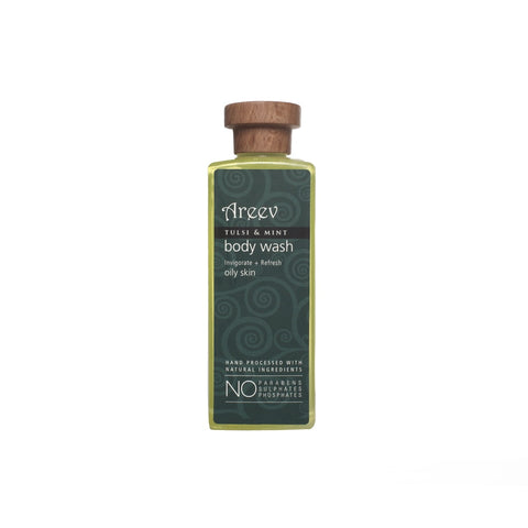 Tulsi And Mint Natural Body Wash