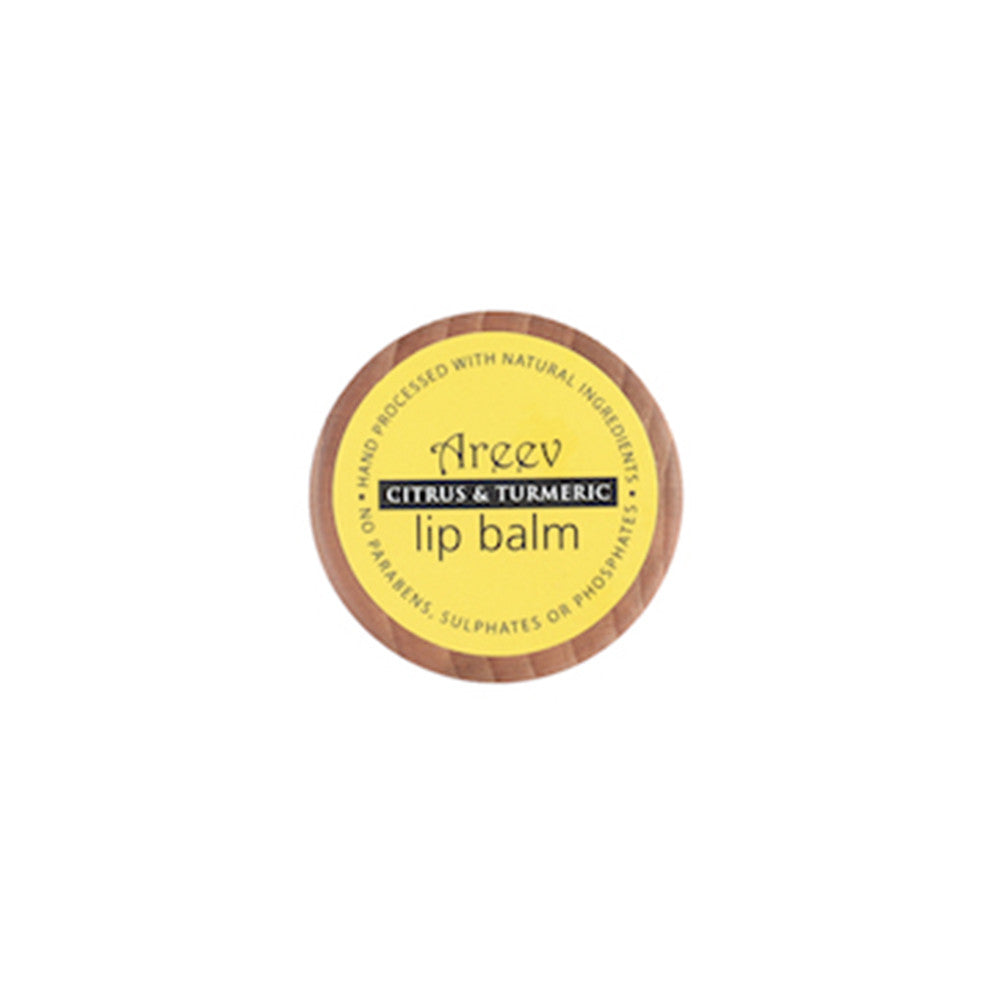 Citrus and Turmeric Natural Lip Balm