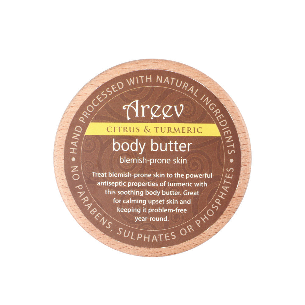 Citrus and Turmeric Natural Body Butter
