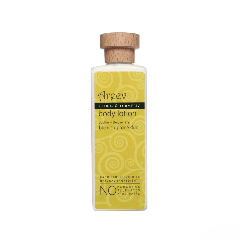 Citrus and Turmeric Quenching Body Lotion