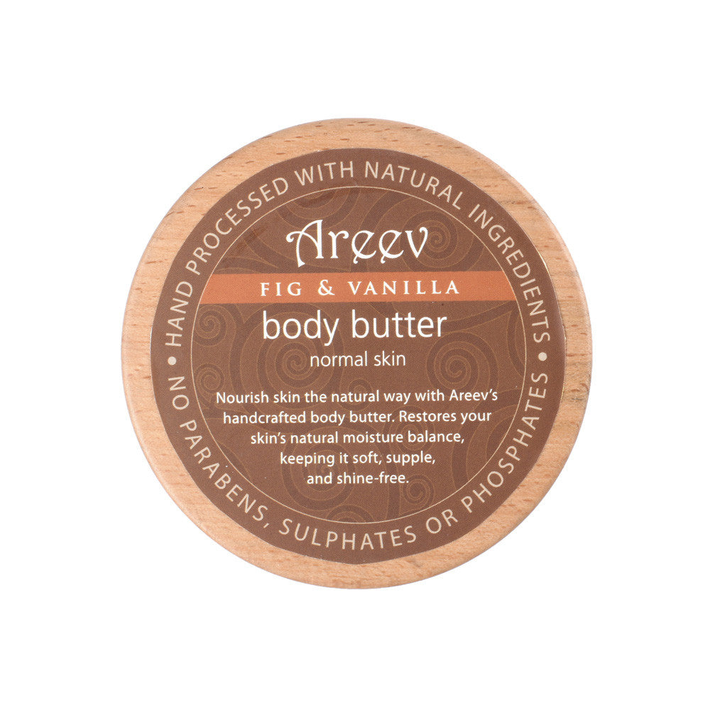Fig And Vanilla Natural Body Butter