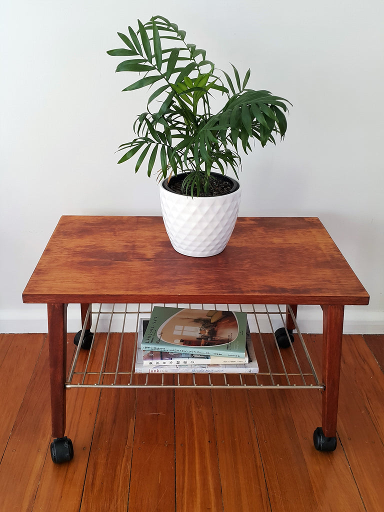 SOLD Little Mid Century Magazine Table
